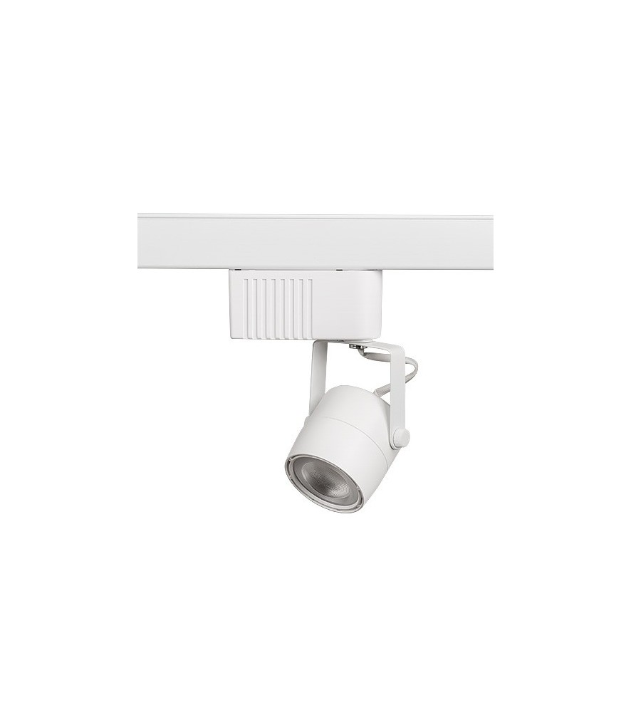 Faretto LED per binario 4 pin, 40W, 220V, COB, luce neutra  - illuminazione Led  - arestore