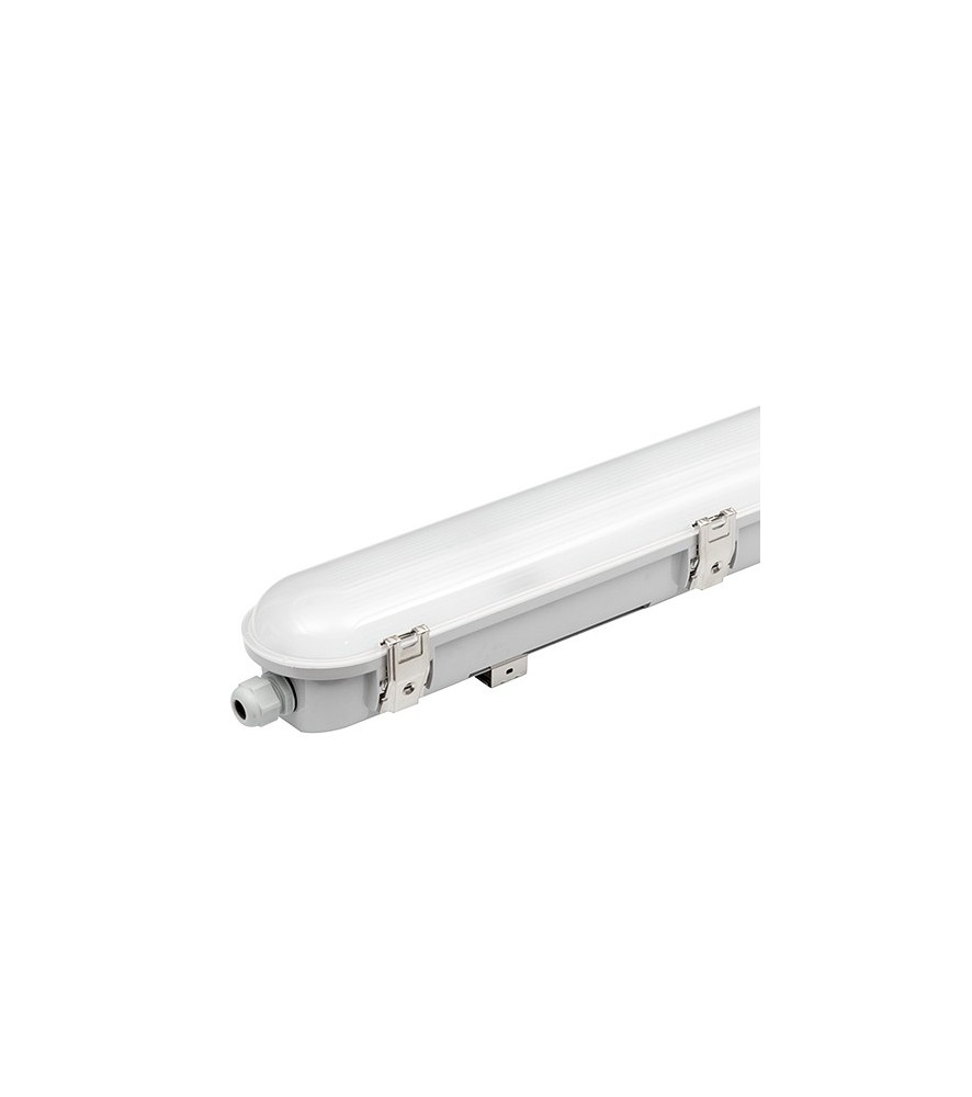 Lampada industriale a LED 1,50m, 40W, luce neutra, IP66, SMD 2835
