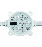 Modulo LED digitale 0.72W, 12VDC, RGB, IC: SM16716, IP68