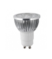 art. L220GU10427 - Faretto LED 4W GU10 2700K, 220V  - illuminazione Led  - arestore