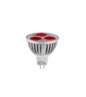 Faretto a LED dimmerabile 3x1W, MR16, 12V AC / DC, luce rossa  - illuminazione a Led  - arestore